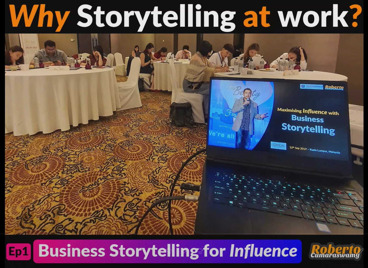 Business Storytelling for Influence